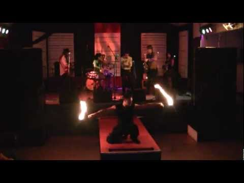Adam Lobo with the Woohoo Revue
