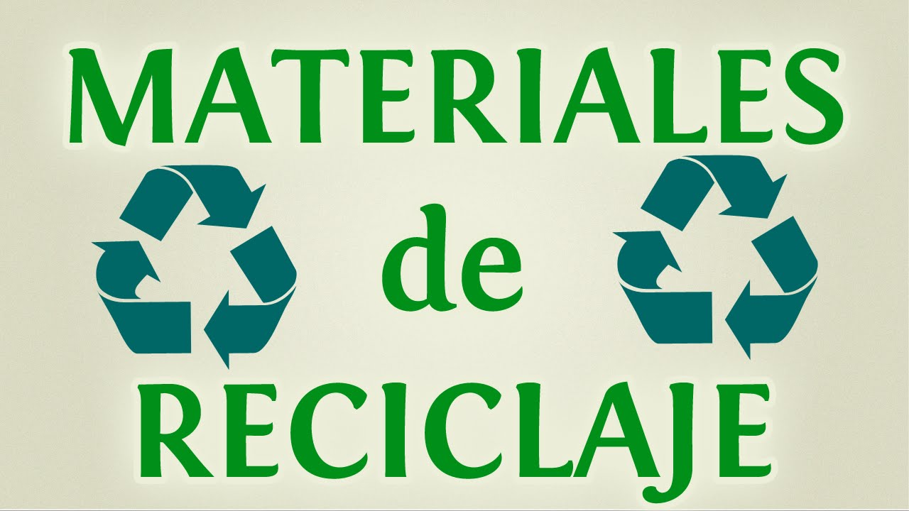 Reciclaje: 10 materiales para reciclar y reutilizar con creatividad ...