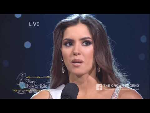 Top 6 Best Answer Miss Universe 10 years ago