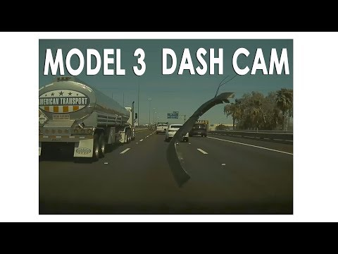 Dash Cam | Tesla Model 3