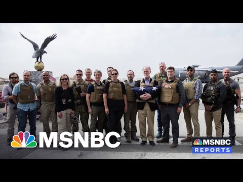 U.S. Wraps Military Operation, Diplomats Depart Afghanistan After War
