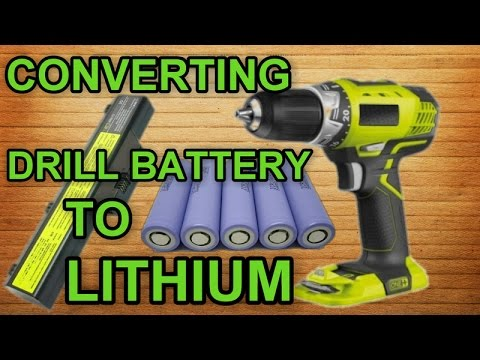 Upgrade Your Drill Battery To Lithium For Free