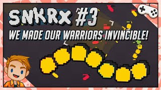 WE MADE OUR WARRIORS INVINCIBLE!  | Let's Play SNKRX | Part 3