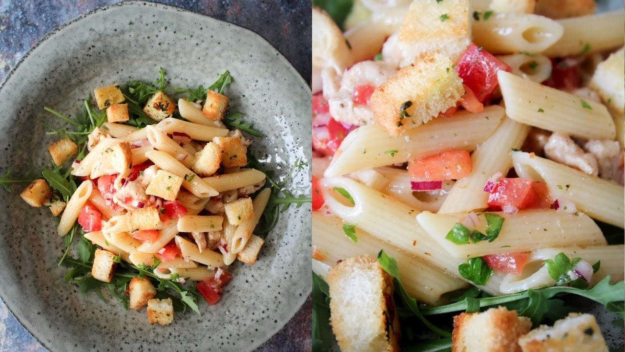 How To Make Summer Pasta Salad Easy Meal Monday By One Kitchen Episode 835