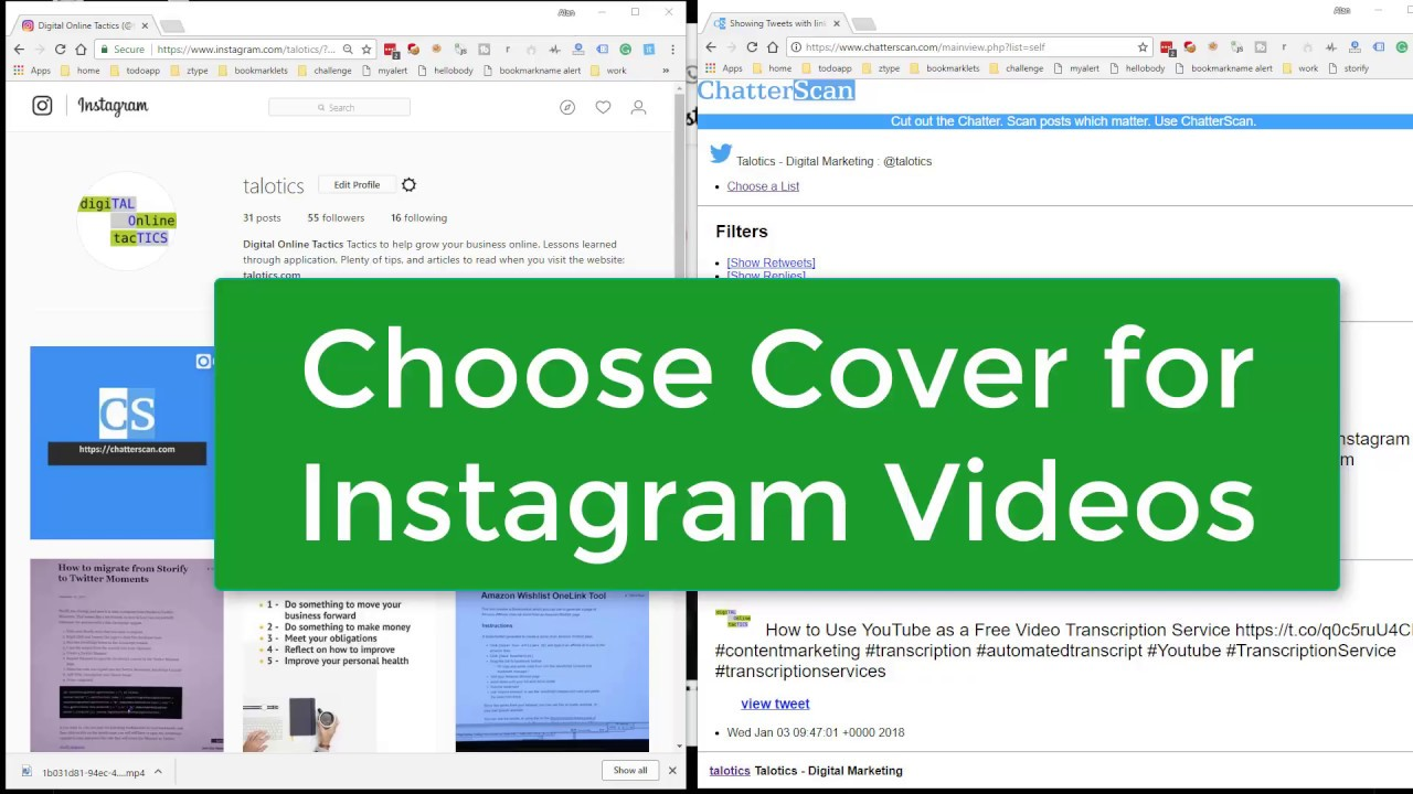 how to get the thumbnail of a youtube video 2018