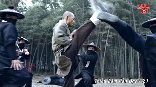 Shaolin Martial Artist Defeats 20 Skilled Assassins In 5 Minutes With Ultimate Kungfu