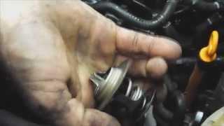 Localizacion y cambio del termostato en Audi A4 1.8 TDI del 2000