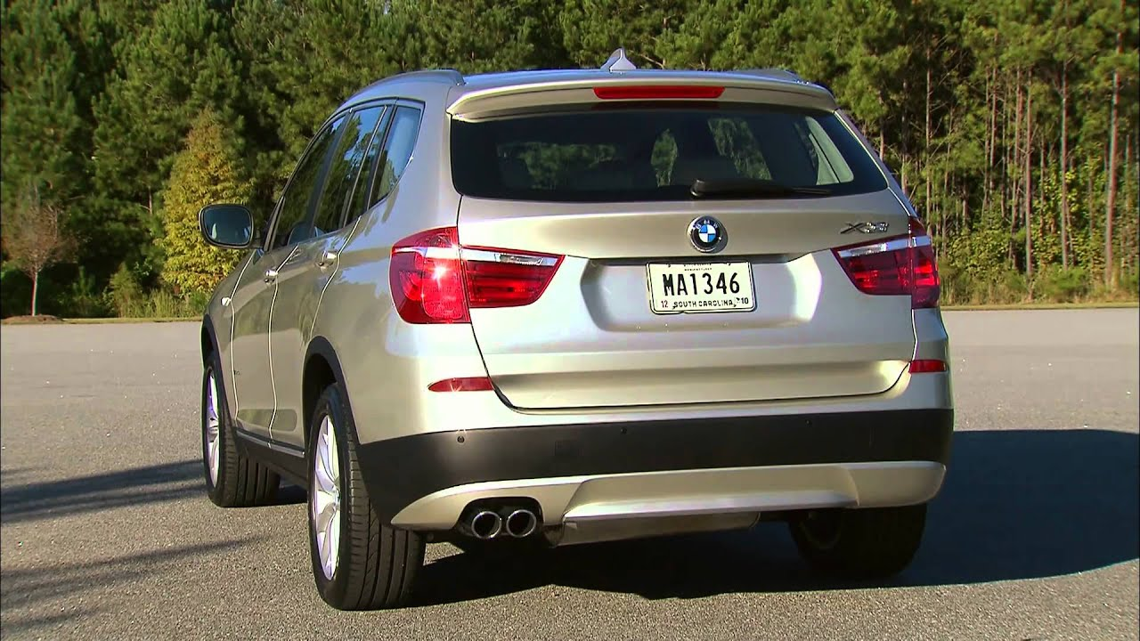 2011 Bmw X3 Xdrive35i Exterior Design And Engine Youtube