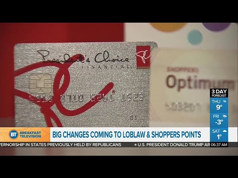 Big changes coming to Loblaw and Shoppers points