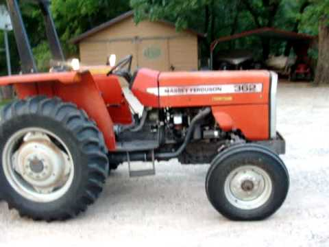 MF 362  Tractor and 6