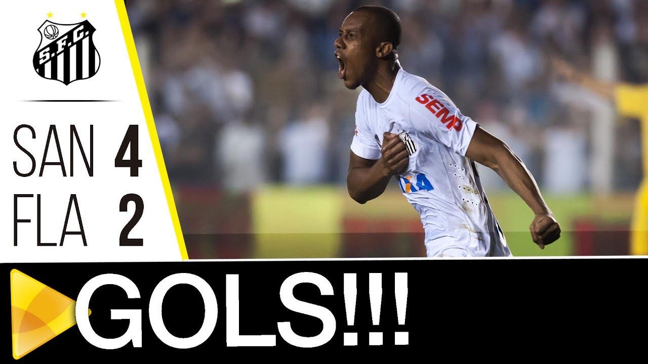 Santos 4 x 2 Flamengo  6c94fb46be129