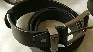 Обзор кожаных ремней магазина VIPremen