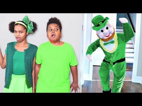 ST PATRICK'S DAY LEPRECHAUN vs Shiloh and Shasha Payback! Onyx Kids