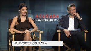 Lali Espósito y Leonardo Sbaraglia hablan de