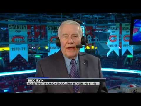 Dick Irvin on Bruins-Habs rivalry