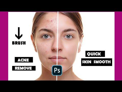 Skin Smooth In Photoshop  Tutorial Brush Download |photoshop Cc |skin Smoothing