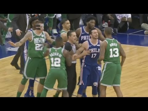 NBA London 2018 76ers Blew 22 Point Lead vs Celtics! 2017-18 Season