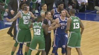 NBA London 2018 76ers Blew 22 Point Lead vs Celtics! 2017-18 Season