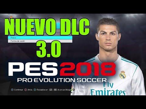 PES 2018 NUEVO DLC  3.0