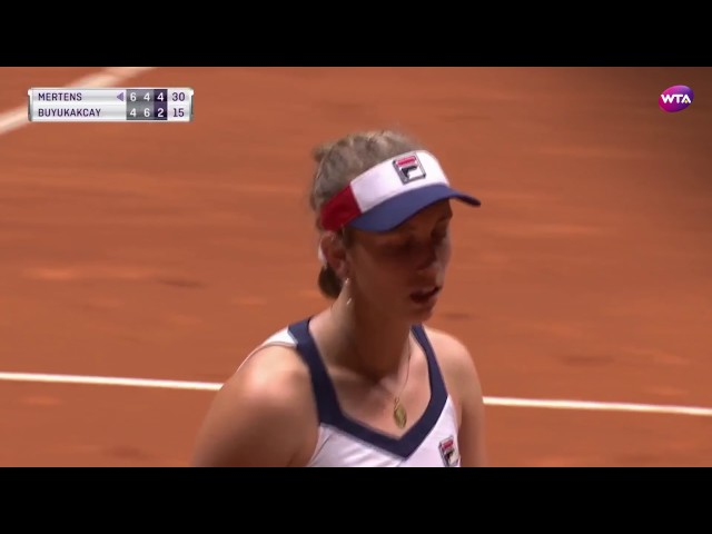 2017 Istanbul Cup Quarterfinals | Shot of the Day | Elise Mertens
