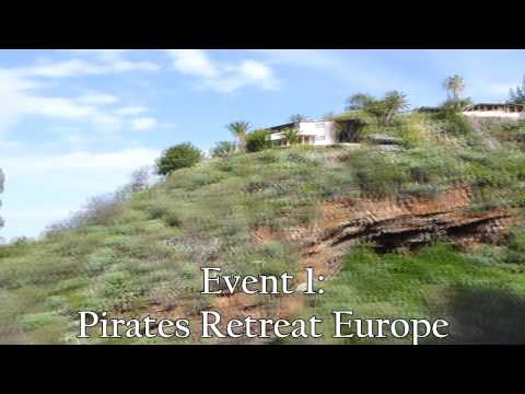 PIRATES RETREAT EUROPE VIDEO TRAILER
