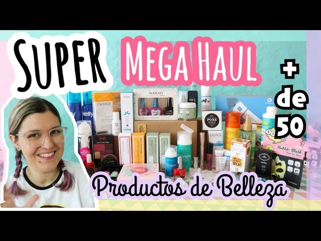 SUPER MEGA HAUL PRODUCTOS BELLEZA | Haul Maquillaje Verano 2018
