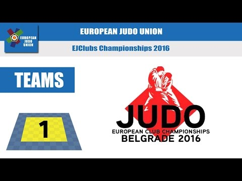 EUROPEAN CLUB CHAMPIONSHIPS - Tatami 1