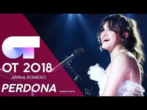 'PERDONA (AHORA SÍ QUE SÍ)' - AMAIA ROMERO | GALA NAVIDAD | OT 2018