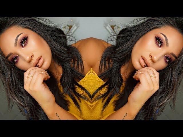 JaclynHill X Morphe || Smokey Fall Eye! Bling Boss Tutorial