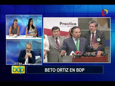 Alejandro Toledo: Beto Ortiz recordó polémicos personajes que estuvieron al lado del expresidente