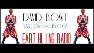 David Bowie - Scary Monsters (And Super Creeps) on WXRT Radio Chicago 16.10.97.