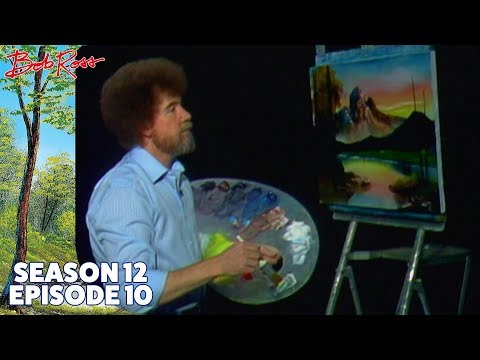 Bob Ross - Mountain at Sunset (Season 12 Episode 10)