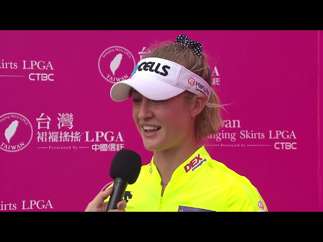 Nelly Korda Talks Second Round 67 at the 2019 Taiwan Swinging Skirts LPGA presented by CTBC