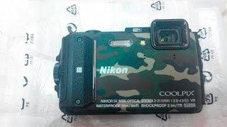 Полевой тест камеры Nikon coolpix AW 130