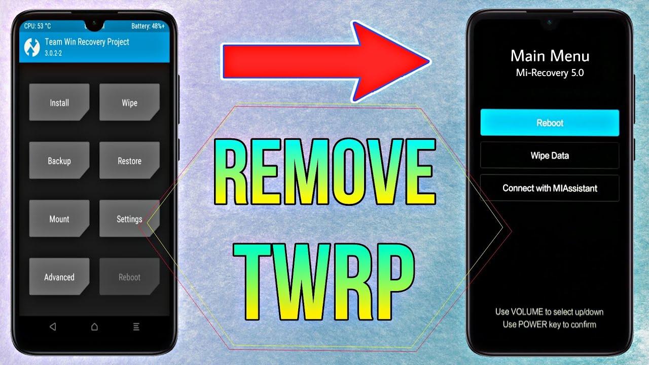 [MIUI12] Remove Any Custom Recovery TWRP Permanently On Any Xiaomi Phone  Get Back MI Stock Recovery   Tất tần tật các thông tin nói về xóa recovery twrp đúng nhất