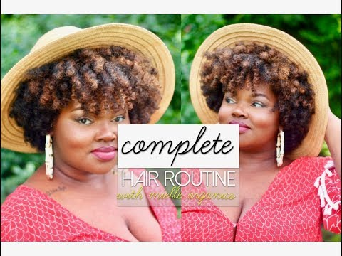 #AD HAIR ROUTINE WITH MIELLE'S MONGONGO OIL LINE | CharyJay