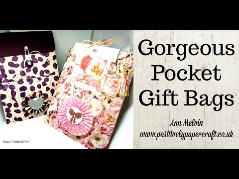 Gorgeous Pocket Gift Bags