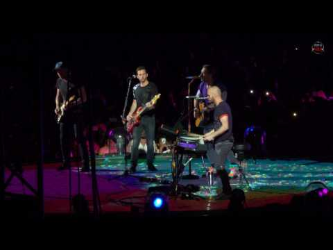 "Thumbnail: Coldplay ""Miracles (Someone Special)"" Live from Milan 2017/07/04 Live Debut! (4K by MekVox)"