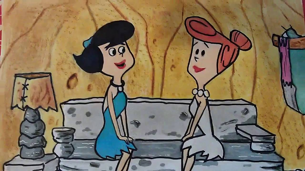 Wilma flintstone and betty rubble healthy!