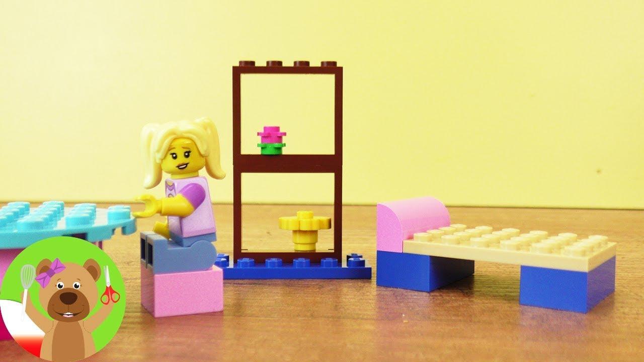 DIY Kids   meble z Lego   wprowadzenie dla początkujących   podstawowe wyposażenie pokoju