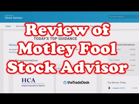 Review of Motley Fool - Stock Advisor