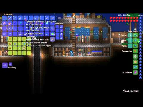Lets Play Terraria - Merz the Red Cloud Ep.65 - /w Merz (Lever Puzzles!! 0~0)