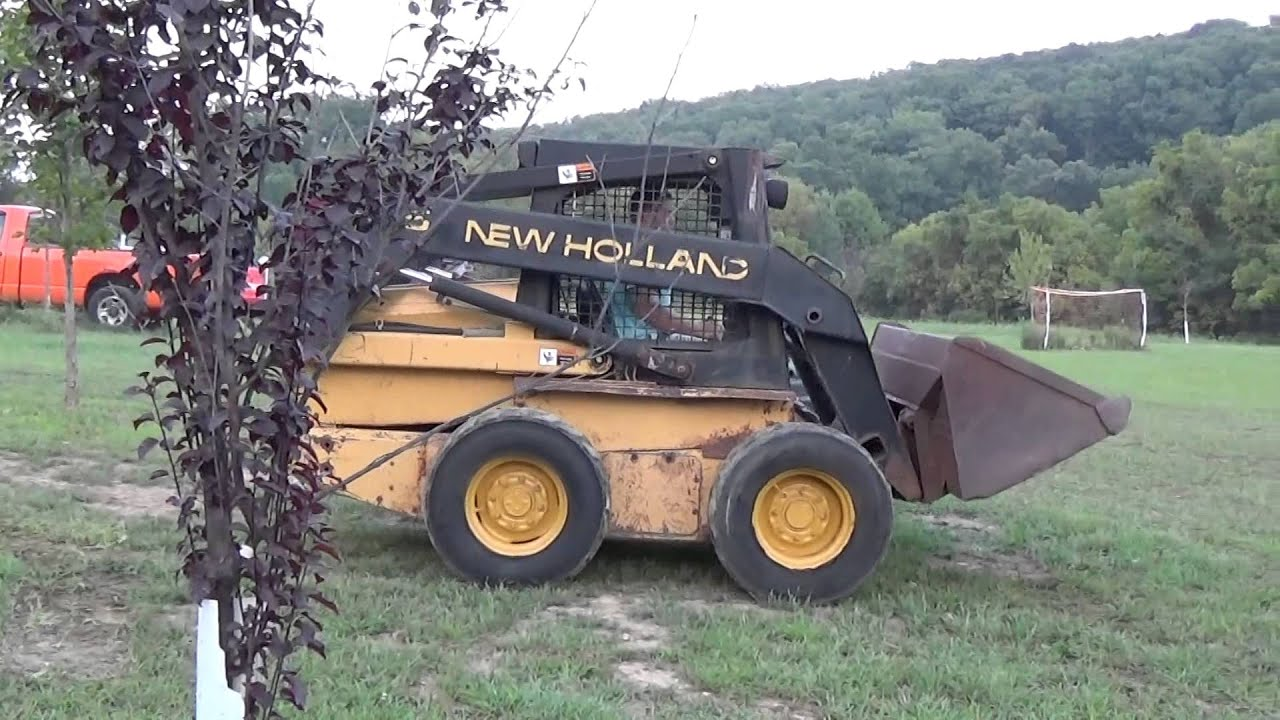 2001 NEW HOLLAND LX865 SKID STEER