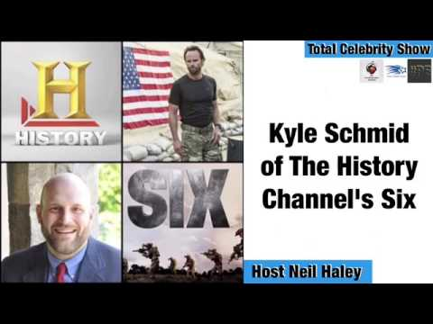 Neil Haley interviews Kyle Schmid of The History Channel's Six