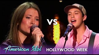 Laine Hardy vs Ashton Gill: Two Best Friends BATTLE It Out! | American Idol 2019