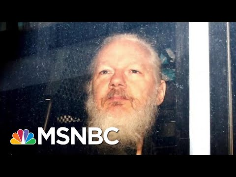 Donald Trump Administration Attacks First Amendment With Assange Charges | Rachel Maddow | MSNBC