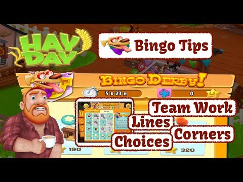 Hay Day Bingo Derby