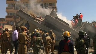 Raw: 1 Dead After Five-story Building Collapse
