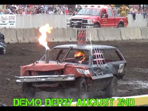 Benton County Demo Derby 2017 (August 2nd)