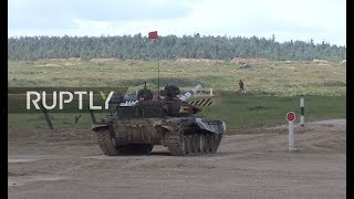 LIVE  Tank biathlon resumes on day 4 of Army Games 2017 in Russia
